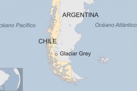 Por qué intriga a los científicos el inusual iceberg gigante que se desprendió del glaciar Grey