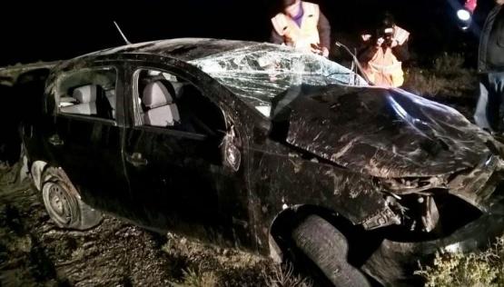 Vuelco fatal en la Ruta Nacional N°3: falleció un bebé de 11 meses