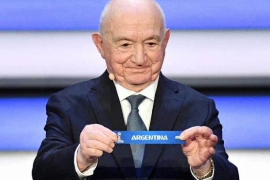 Argentina integra el Grupo D