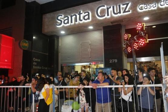 Más de dos mil personas pasaron por la Casa de Santa Cruz