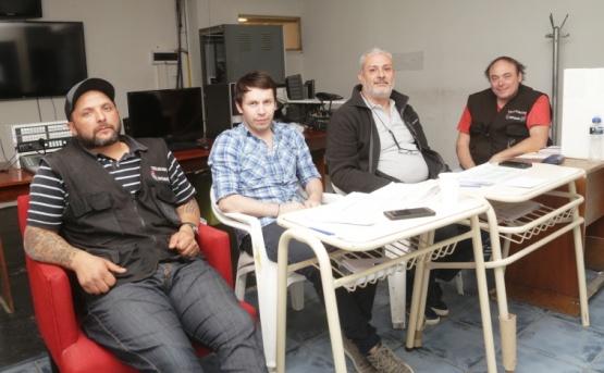Presidentes de Mesa del Satsaid. (C.G.).