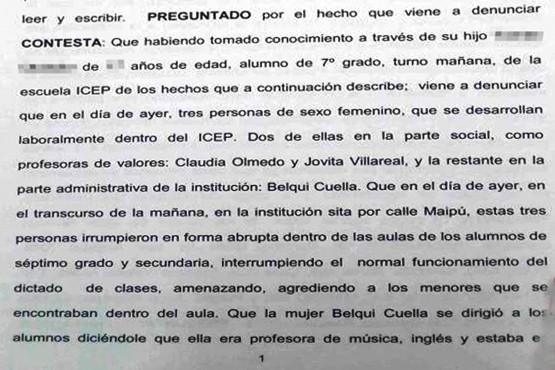 """Denuncian a autoridades del ICEP por """"irrumpir y requisar a alumnos sin permiso"""""""