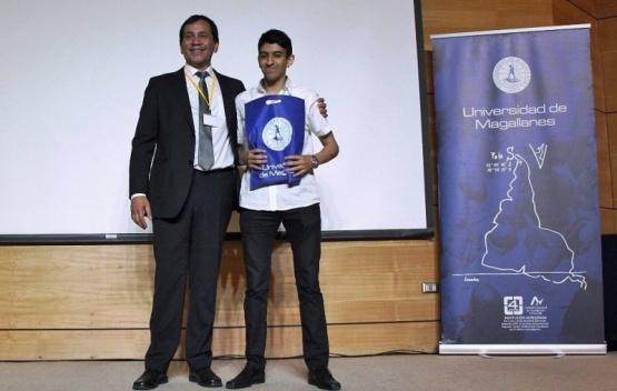 Estudiante de la UNPA premiado en un congreso internacional