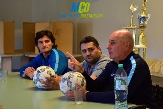 Formadores deportivos de San Lorenzo arribaron a Caleta Olivia