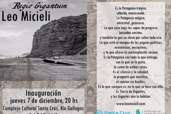 """La muestra fotográfica """"Regio Gigantum"""" se inaugurará este próximo jueves"""