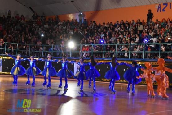 La escuela municipal de patín tuvo su noche de gala