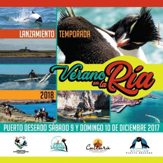 Con diversas actividades lanzan la temporada en Puerto Deseado