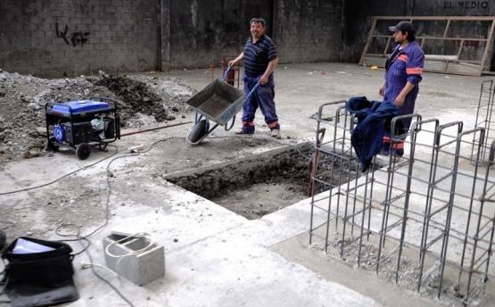 Continúan los trabajos en la Planta de Tratamiento de residuos