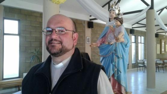 El Padre Latini contó cómo vienen los preparativos.