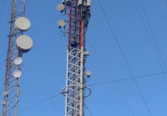 Preventor de tránsito se subió a una antena reclamando por trabajo