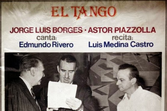 Borges y gran relación con el tango (Foto Ilustrativa)