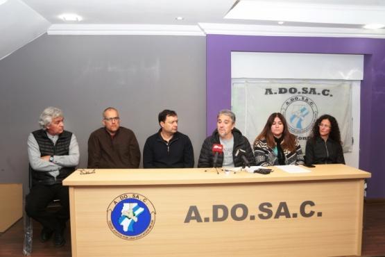 Nuevamente ADOSAC advirtió que no está garantizado el inicio de clases en 2018