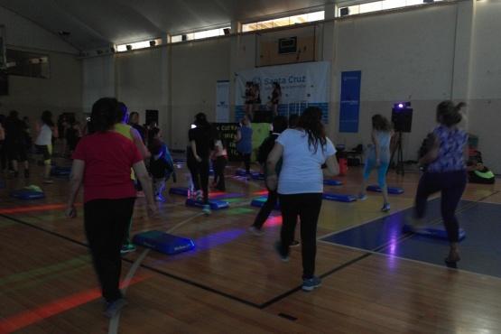 Realizaron actividades físicas y lúdicas en el CEPARD