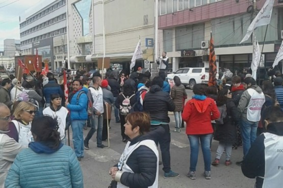 Manifestación contra las reformas
