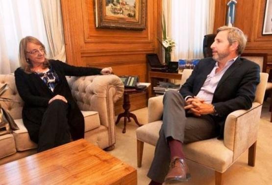 Alicia Kirchner viajó a Buenos Aires para gestionar fondos