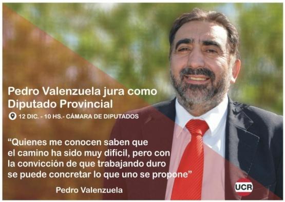 Valenzuela confirmó que asumirá el 12 de diciembre