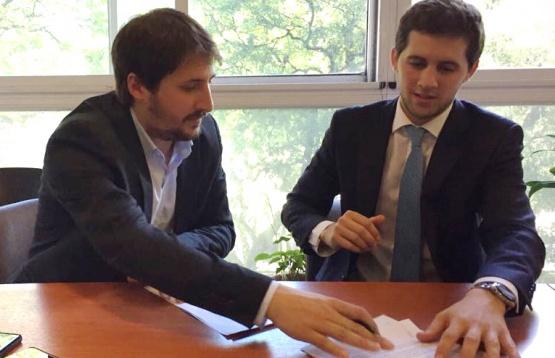 Leandro Zuliani y Luis María Capellano