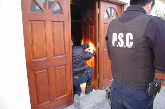 En los tres casos trabajó el personal de la División Criminalística.