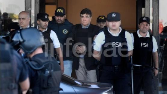 Zannini está en los tribunales de Comodoro Py y será trasladado a la cárcel de Ezeiza