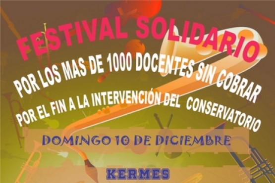 Se realizará un festival solidario
