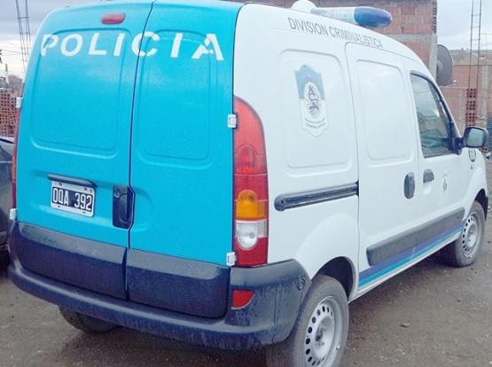 La División Criminalística realizó las pericias del caso.