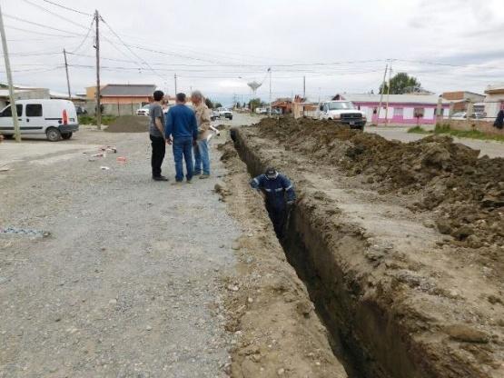 IDUV inició trabajos de pavimentación en Río Gallegos