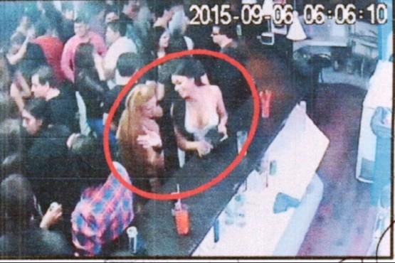 Esta es la última foto de Marcela Chocobar, antes de ser asesinada, la madrugada del 6 de septiembre.