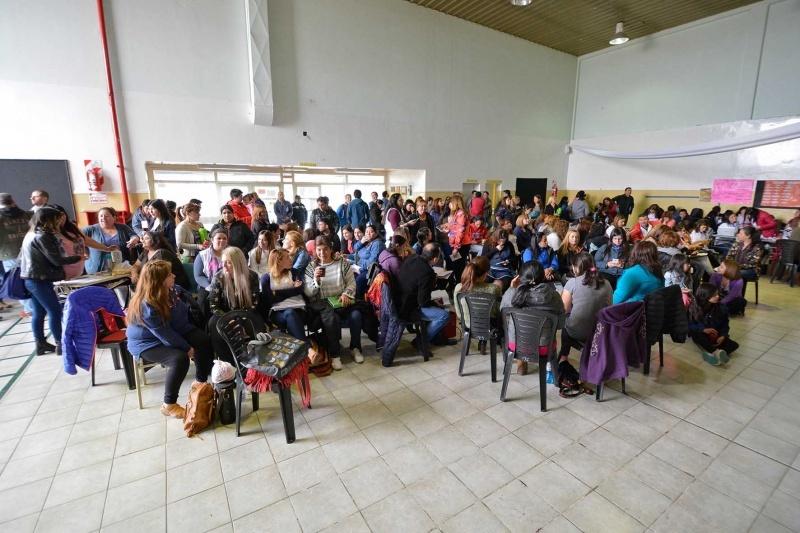 El acto público se llevó a cabo en Río Gallegos.