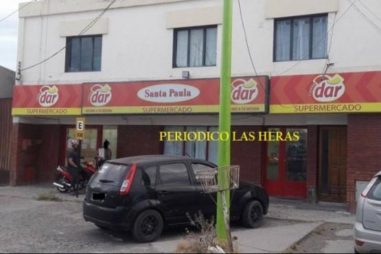 Roban en un local comercial de Las Heras y a una turista en El Chaltén