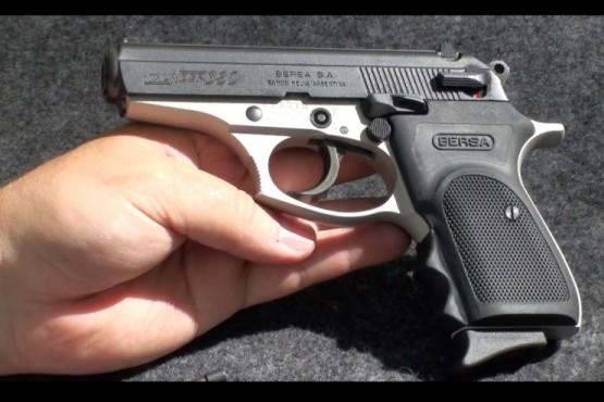 El arma de fuego fue encontrada en la tarde de ayer en una camioneta. (Foto ilustrativa)