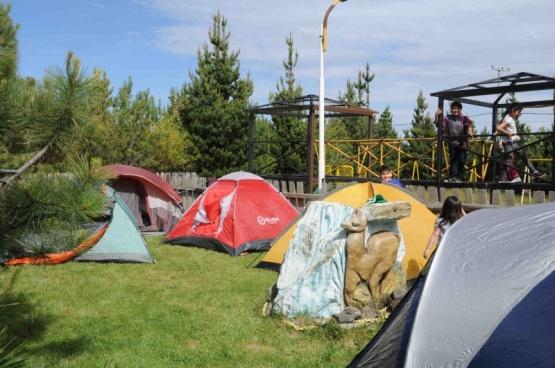 Los chicos del cenin 2 cerraron el año con un campamento