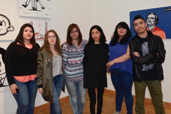 Inaugura la muestra de Egresados del Profesorado de Arte
