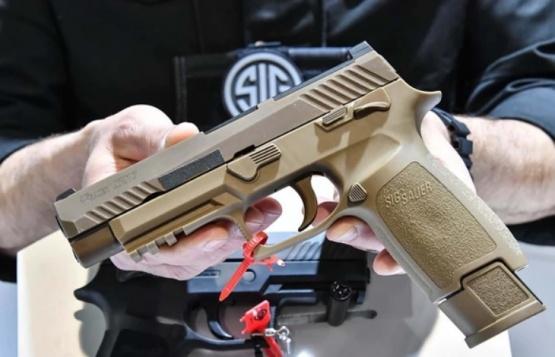 Así es la nueva pistola que usarán los soldados del ejército de los Estados Unidos