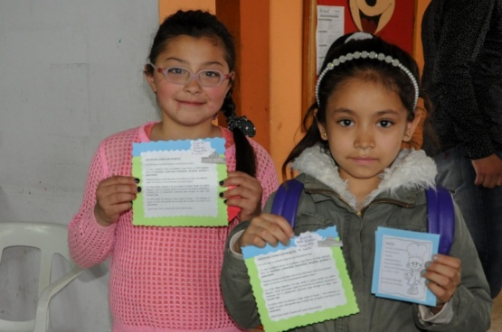 El taller de niños Yedaix cerraron su año en el cenin 6