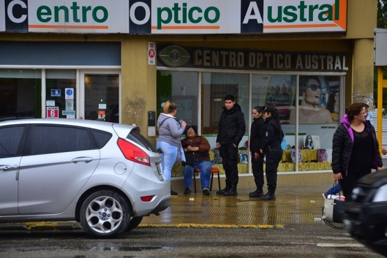 Una mujer fue atropellada en Av. Kirchner