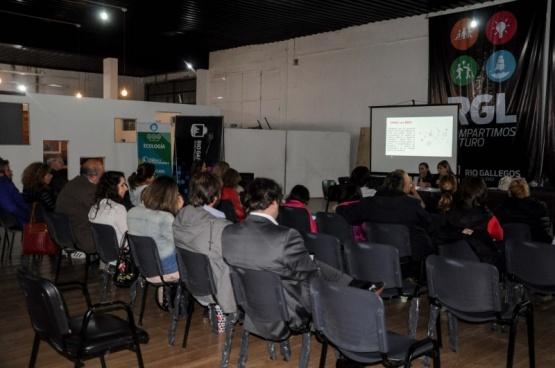 La charla se llevó a cabo en Desarrollo Humano.