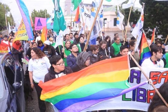 La marcha se concentró en la Plaza San Martín. (C.G)