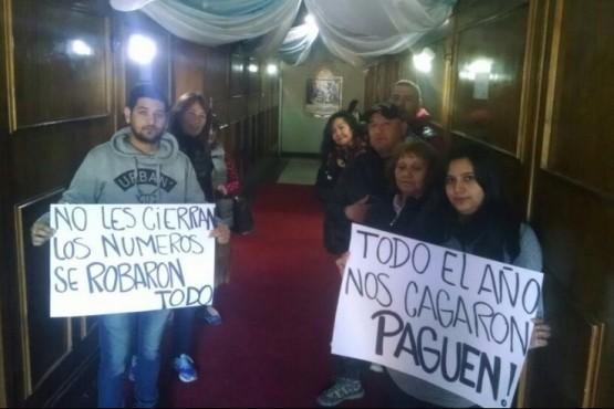 Facilitadores y trabajadores sociales en la Municipalidad