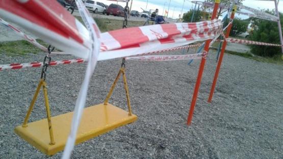 Insólito: clausuraron la hamaca donde se lastimó un joven