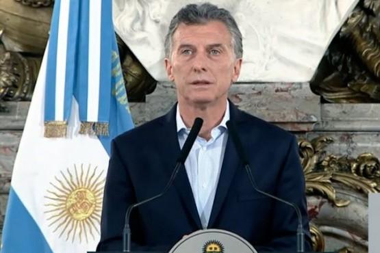 Presidente Macri.