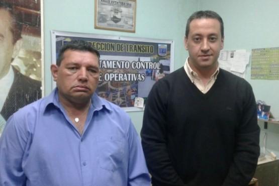 Christian Cerullo junto a Mario Cárdenas.