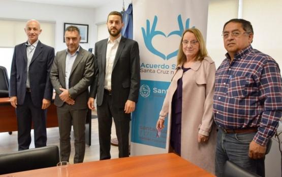 Alicia Kirchner abogó por el trabajo Provincia-Municipios