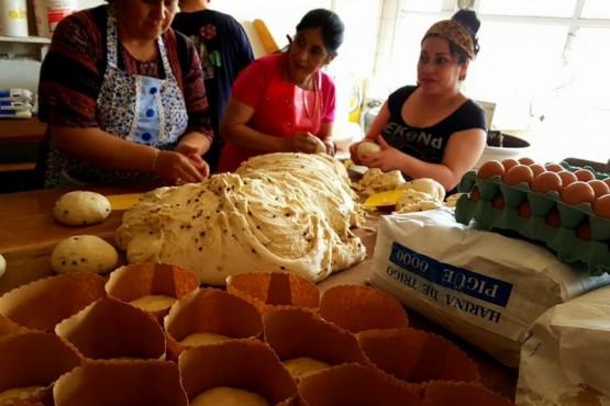 Pan dulce para los vecinos del San Benito