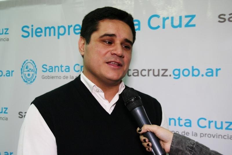 Martín Chavez, Secretario de Estado de Gobierno e Interior.
