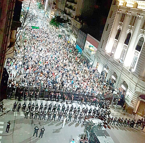 """""""Desde 1983 la democracia fue frágil"""". (Foto La Gaceta)"""