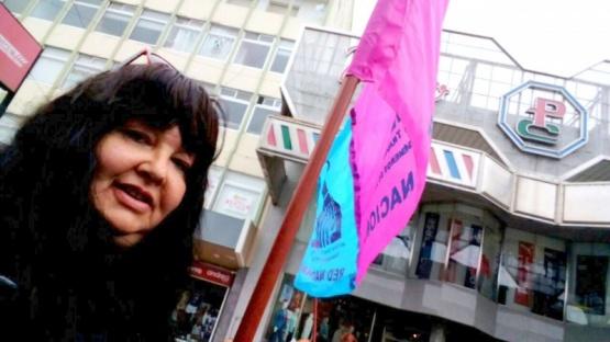 Mónica Andrada fue homenajeada en Río Gallegos