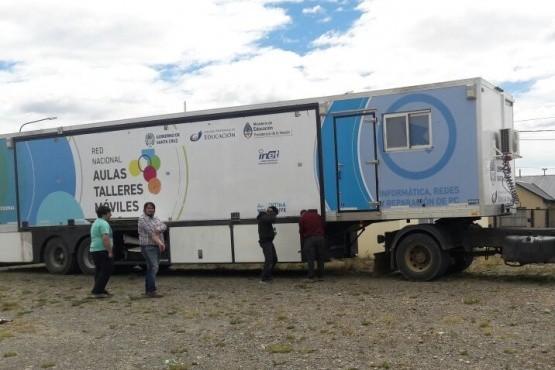 Aula Taller Móvil visitará barrios de Río Gallegos