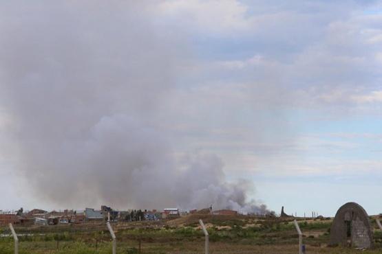 El vaciadero con nuevos incendios de residuos sólidos