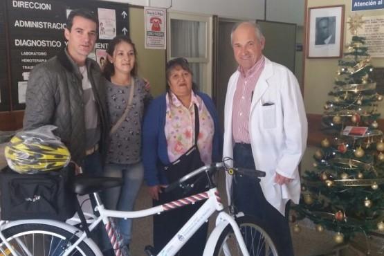 La comunidad Mapuche Tehuelche Fem Mapu recibió bicicletas para la promoción de la actividad física