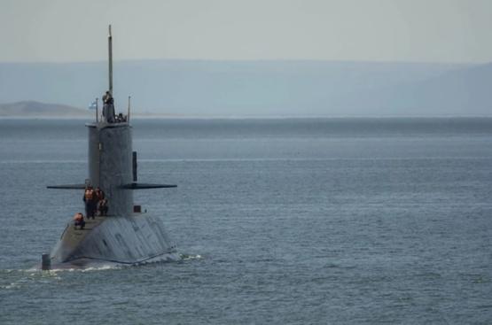 La Armada Argentina informó que